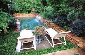 pool natural backyard decorating ideas small backyard With swimming pool designs for small yards