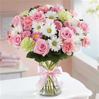 flowers sweet baby girl arrangement