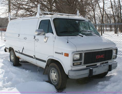 all car manuals free 1995 gmc vandura g3500 seat position control 1996 gmc vandura g3500 cargo van item 4821 sold march 9