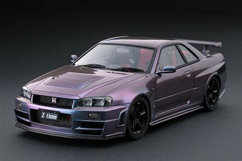 Nissan Skyline R34 Nismo Gt-r Z-tune Midnight Purple Iii