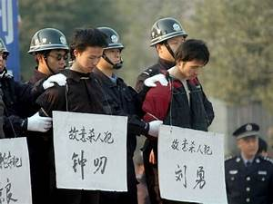 CHINA Beijing cuts the number of executions, but keeps ...