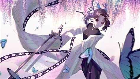 shinobu kochou anime  wallpapers hd wallpapers id
