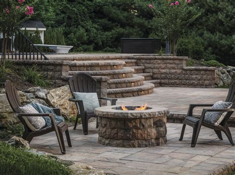 additional fireplace turn up the heat with these cozy pit patio design