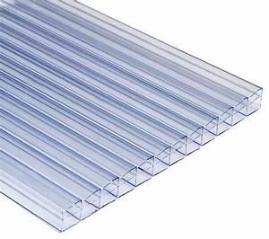 Plaque Polycarbonate Alvéolaire Brico Depot : plaque polycarbonate transparente transparente 3 x 1 m ~ Nature-et-papiers.com Idées de Décoration