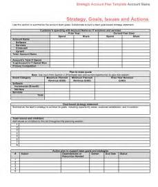 Chart Of Accounts Excel Template Strategic Account Plan Template At Four Quadrant