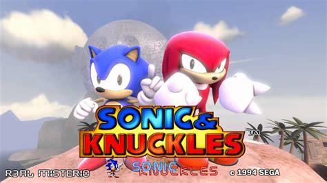 sfm sonic knuckles intro youtube