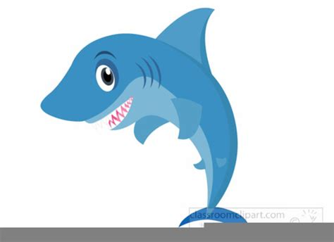 Shark Clip Animated Sharks Clipart Free Images At Clker