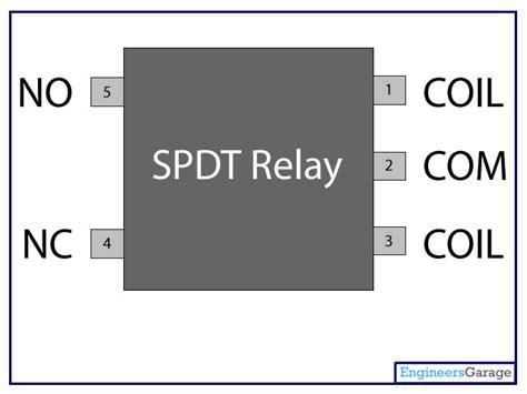 Relay Switch Pin Diagram Description Engineersgarage