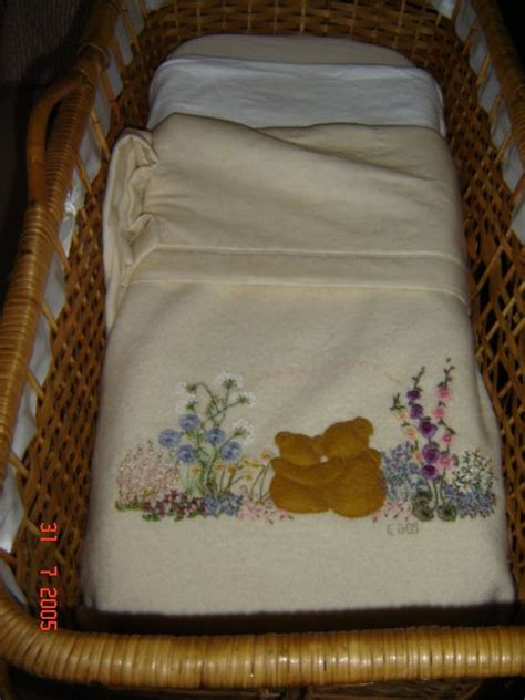 images  embroidered baby blankets