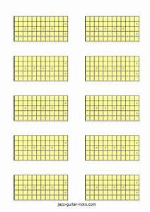 10 Guitar Neck Diagrams