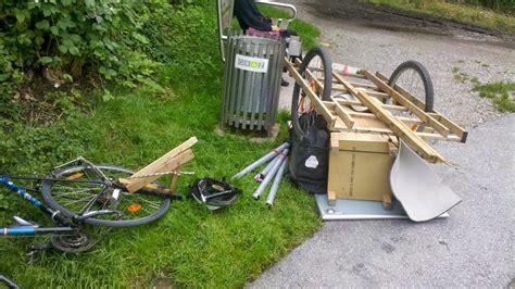 diy bicycle blog   homemade bike trailer  moving  town