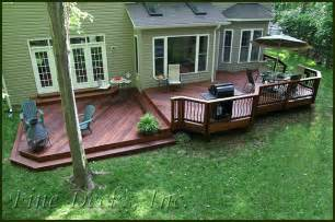 Simple Two Level Decks Ideas Photo by Multi Level Ipe Deck Flickr Photo