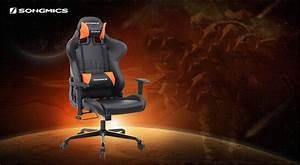 Günstige Gaming Stühle : songmics gaming stuhl test g nstig und guter gaming stuhl ~ Markanthonyermac.com Haus und Dekorationen