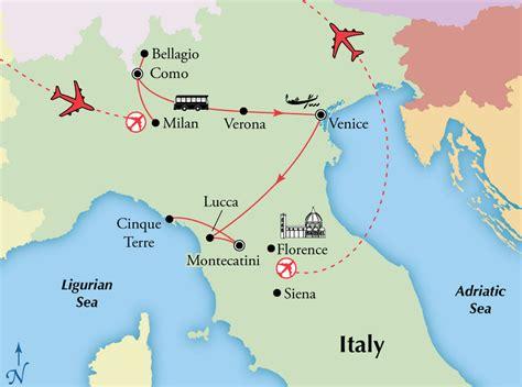 Italian Lakes to Tuscany Tour
