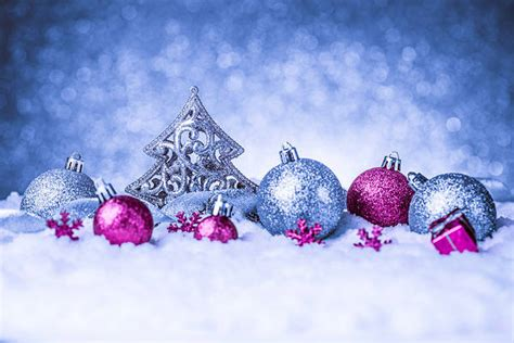 pink and blue christmas ornaments blue background with pink ornaments gallery yopriceville high quality images and