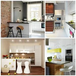 amenagement petite cuisine pratique et moderne With amenagement cuisine salon salle a manger pour petite cuisine Équipée