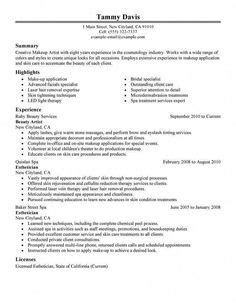 Resume Tips And Exles by 8 Esthetician Resume Sle Sle Resumes