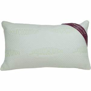 Bounce comfort serenity antimicrobial 16quot x 28quot memory for Bounce comfort memory foam pillow