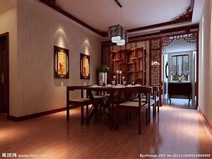 明清风格餐厅设计图 室内设计 环境设计 设计图库 昵图网nipic com