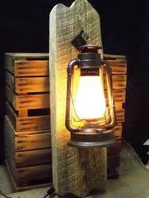 this is our large rustic wall sconce electric lantern