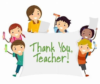 Thank Card Teacher Appreciation Male Week Female
