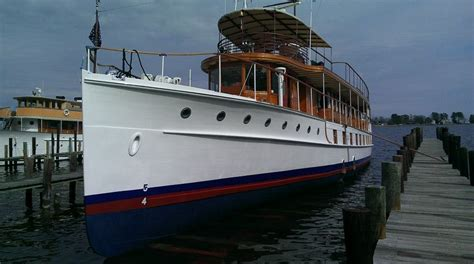 presidential yacht uss sequoia   sold   ybw