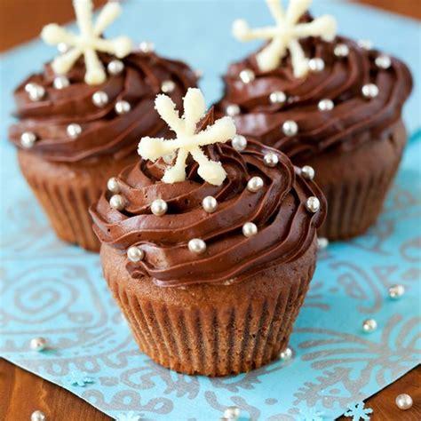 recettes de cuisine de noel recette cupcakes au chocolat au lait