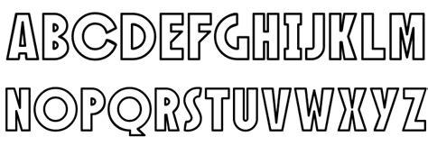 sf speakeasy outline font