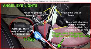 Depo Angel Eye Headlight Wiring Help - Bimmerfest