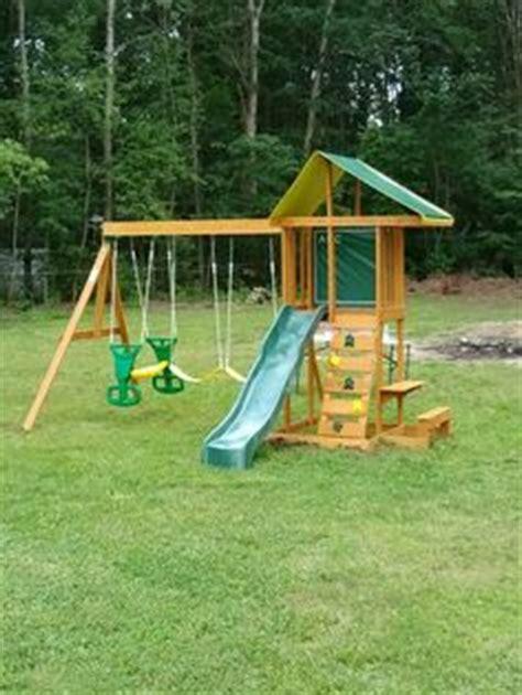 Big Backyard Springfield by Big Backyard Goldenridge Deluxe Playset Installed In