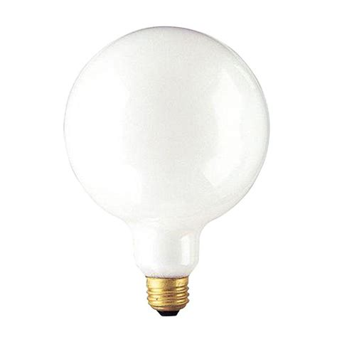 bulbrite 100 watt incandescent g40 light bulb 10 pack