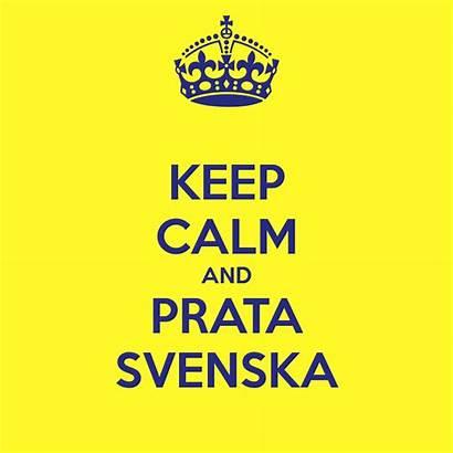 Swedish Learn Keep Svenska Sweden Calm