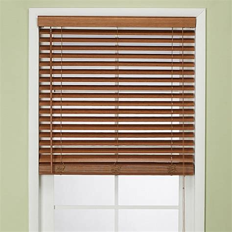 Colored Window Blinds Shades by Flat Bamboo Window Blind In Pecan Bed Bath Beyond