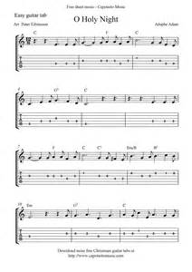Free Guitar Sheet Music O Holy Night