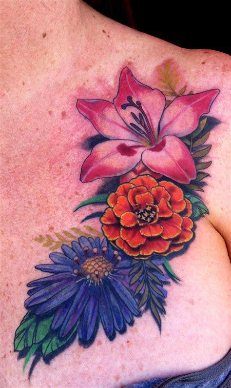 latest marigold tattoos find marigold tattoos