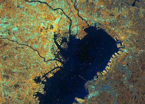 Earth From Space Tokyo Bay Japan Spaceref