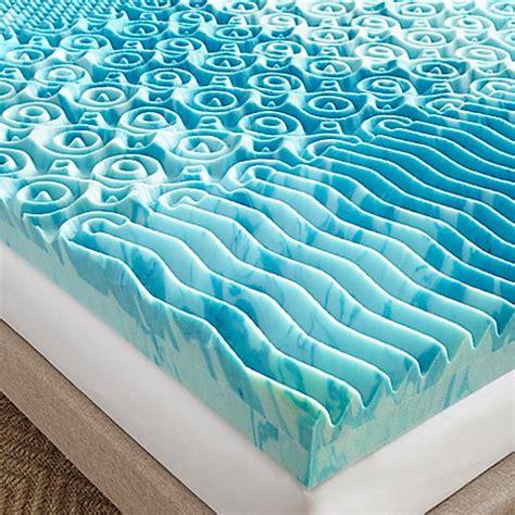 4 inch memory foam mattress topper 4 inch gellux gel memory foam mattress topper in blue