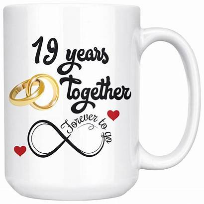 Anniversary Years Gift Him Married 19th Together
