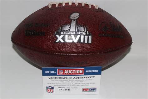 nfl auction nfl super bowl  game  football