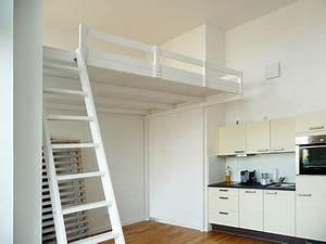 Hochbetten Für Erwachsene 200x200 : bild 12 hochbett hochetage mit treppe bauideen r ume ~ Watch28wear.com Haus und Dekorationen