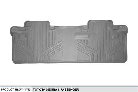 11-17 Toyota Sienna 8-passenger Custom Floor Mat Liner 2nd