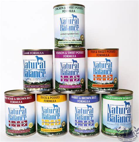 natural balance dog food food