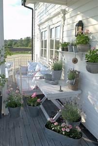 aranzacje balkonow inspirujace pomysly wwwzrob to sameu With markise balkon mit tapete shabby vintage