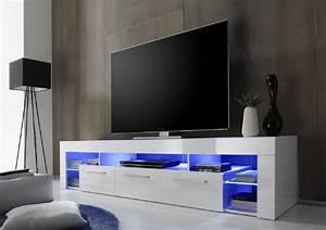 Tv Lowboard 200 Cm : lowboard tv hifi unterteil score wei hochglanz 200 x 44 ~ Indierocktalk.com Haus und Dekorationen