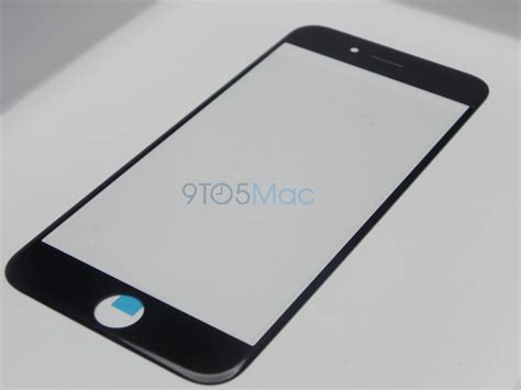 iphone 6 glass leaked features curvature around the edges