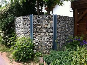 Kiesflächen Im Garten : gabionen von koch garten und landschaftsbau ~ Markanthonyermac.com Haus und Dekorationen