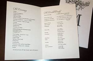 Best photos of wedding program format sample wedding program templates free wedding program for Sample wedding programs templates