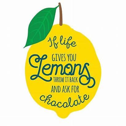 Quotes Quote Lemons Inspirational Motivation Vector Clip