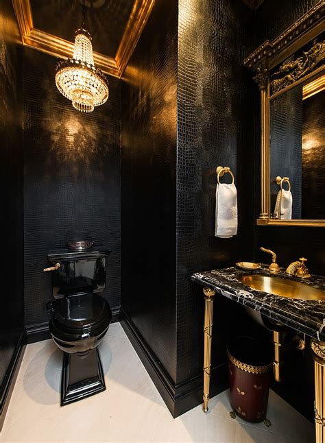 gold room ideas 15 refined decorating ideas in glittering black and gold 4877