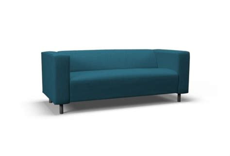 canapé turquoise ikea klippan two seat sofa cover event turquoise blue by
